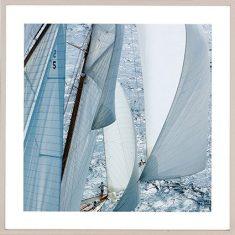 Fotografia Les voiles de Saint-Tropez G. Plisson 75x75cm