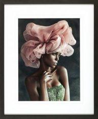 Fotografia Portrait of a Black Woman I 70x85cm