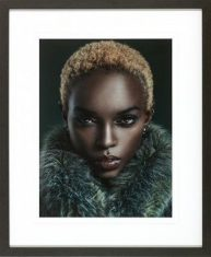 Fotografia Portrait of a Black Woman II 70x85cm