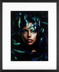 Fotografia Shimmering Goddess J. Lauren  Black Woman 70x85cm