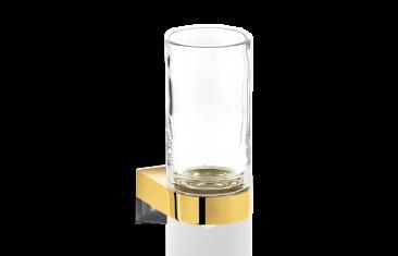 Kubek łazienkowy Century Wall Gold Crystal Cl Decor Walther 6x9x12,5cm