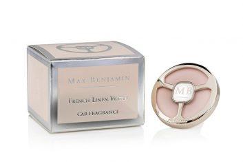 Zapach do samochodu Max Benjamin French Linen Water