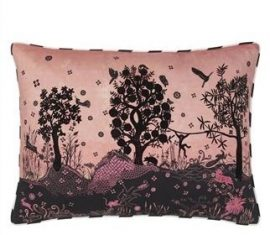 Poduszka dekoracyjna Lacroix Bois Paradis Bourgeon 60x45cm