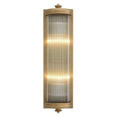 Kinkiet Eichholtz Glorious Brass Matte L 13x11x43cm