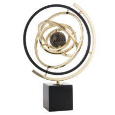 Dekoracja Universe Black Gold 31x43cm Cosmo Light