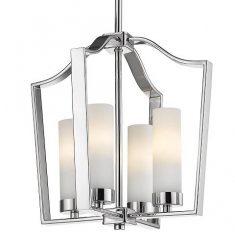 Lampa wisząca Dublin Silver 4L 34x34cm Cosmo Light