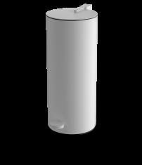 Kosz łazienkowy na śmieci biały Decor Walther Cylo White Matt 14,5×33,5cm