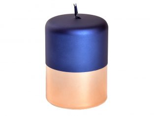 Świeca dekoracyjna Bonbon Royal Blue 7,5x10cm