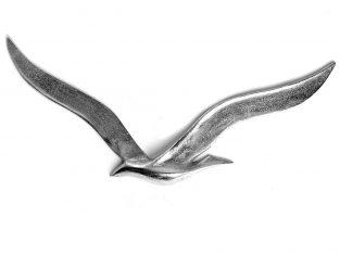 Dekoracja ścienna mewa BBHome Sea-Gull Raw L 69×4,5x31cm