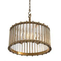 Lampa wisząca Eichholtz Tiziano Antique Brass 52,5x52cm