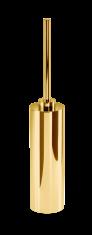 Szczotka do WC pozłacana błyszcząca Decor Walther Century Gold 8x46cm