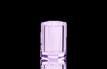 Kubek łazienkowy fioletowy Kristall Violet Decor Walther 7x10cm