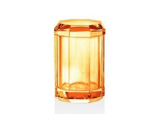 Pojemnik łazienkowy Kristall Amber Decor Walther 9x14cm