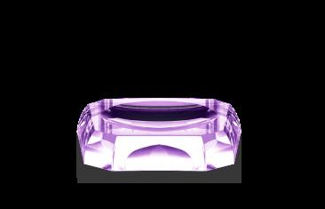 Mydelniczka kryształowa Kristall Violet Decor Walther 12x12x2,5cm