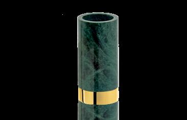 Kubek łazienkowy marmurowy Decor Walther Century Gold Marble Green 6×12,5cm