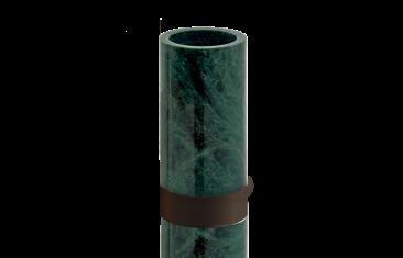Kubek łazienkowy marmurowy Decor Walther Century Bronze Marble Green 6×12,5cm