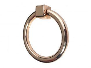 Uchwyt do mebli kołatka złota Ring Gold 52mm
