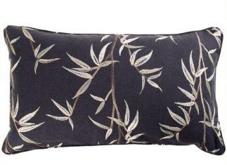 Poduszka dekoracyjna haftowana Sumi Jet 50x30cm