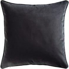 Poduszka welwetowa czarna Napoli Black 45x45cm