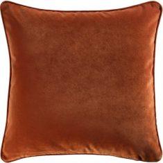 Poduszka welwetowa Glam Velvet Rust 45x45cm