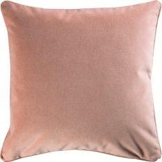 Poduszka welwetowa różowa Claude Pink 50x30cm
