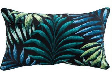 Poduszka dekoracyjna podłużna Manila Zinc 50x30cm