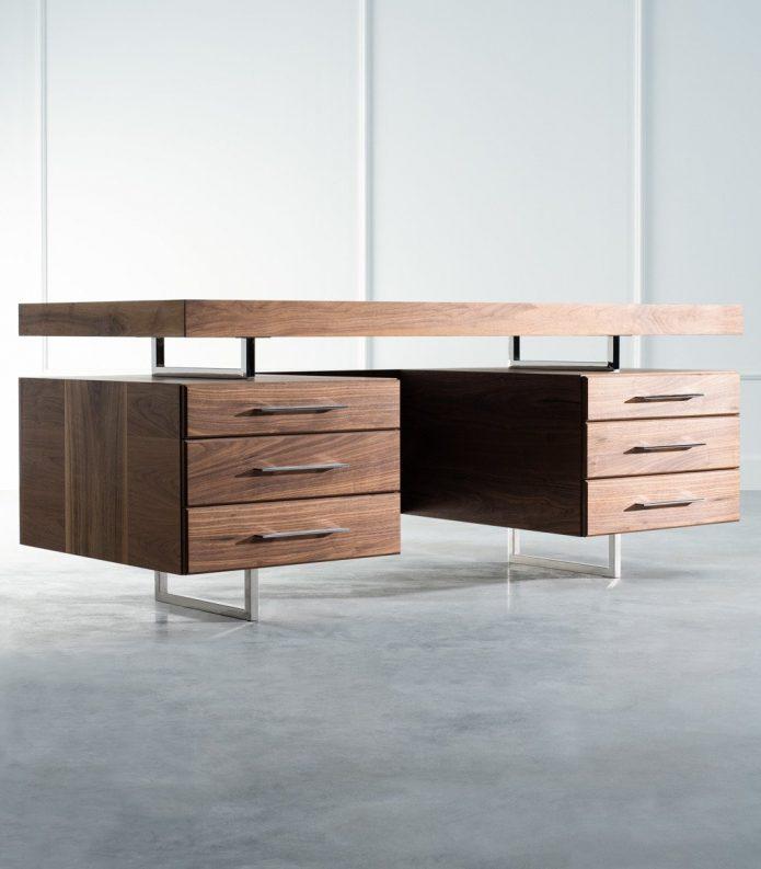 Modern fotele drewno salonu na zamówienie