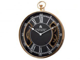 Zegar ścienny BBHome Roman Gold Black 51cm