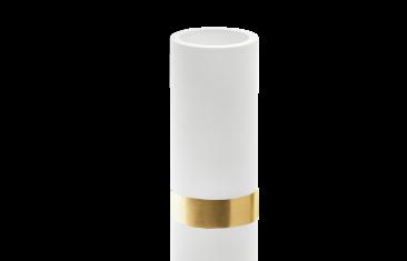 Kubek łazienkowy biały złoty mat Decor Walther Century Gold Matt White 6×12,5cm