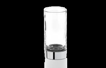 Kryształowy kubek łazienkowy Decor Walther Century Chrome Crystal Cl. 6×12,5cm