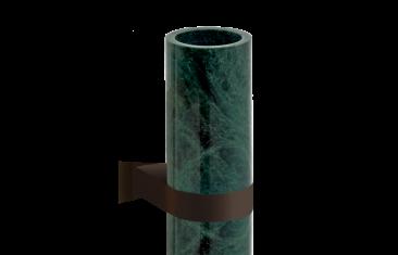 Kubek łazienkowy ścienny marmur/ brąz Decor Walther Century Wall Bronze Marble Green 6x9x12,5cm