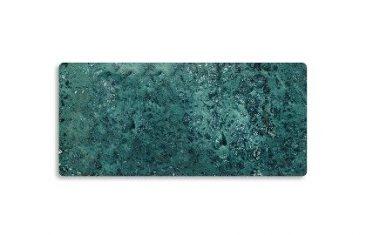 Taca łazienkowa prostokątna marmurowa Decor Walther Century Marble Green 41x23x1,5cm