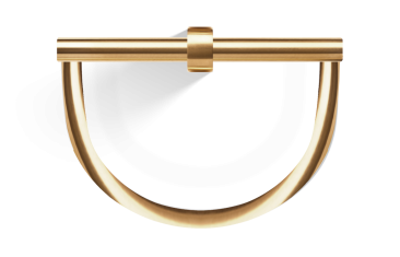 Wieszak na ręczniki półokrągły złoty/matowy Decor Walther Century Gold Matt 22×8,5x20cm