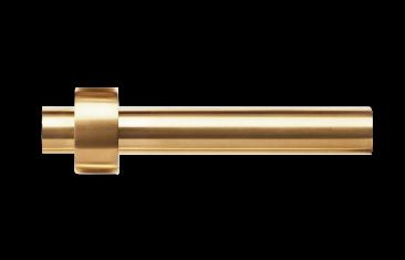 Uchwyt na papier toaletowy złoty matowy Decor Walther Century Gold Matt 18×8,5x4cm