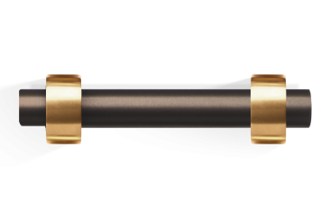 Uchwyt na papier brąz/złoto Decor Walther Century Dark Bronze Gold Matt 19×8,5x4cm
