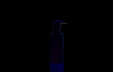 Dozownik na mydło okrągły, czarny matt Decor Walther Mikado Black Matt 7x18cm