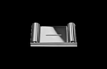 Mydelniczka ścienna Decor Walther Mikado Wall Chrome 12×8,5×1,2cm