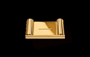 Mydelniczka ścienna Gold Mikado Decor Walther 12x8,5x1,2cm BBHOME