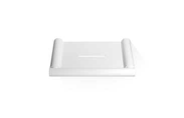 Mydelniczka ścienna, biały matt Decor Walther Mikado Wall White Matt 12×8,5×1,2cm