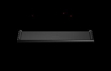 Półka łazienkowa, czarny matt Decor Walther Mikado Wall Black Matt 40×8,5x2cm
