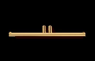 Uchwyt na papier podwójny, złoty Decor Walther Mikado Gold 27,5x7x1,5cm
