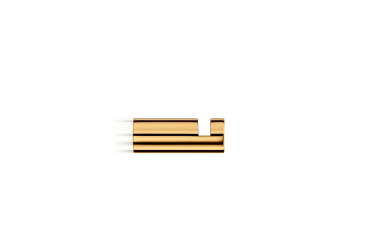 Wieszak na ręcznik, złoty Decor Walther Mikado Gold 3,5×1,2cm