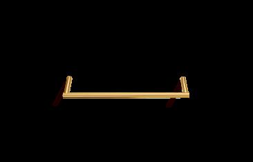 Wieszak na ręcznik, złoty Decor Walther Mikado Gold S.30x7x1,2cm