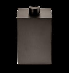 Kosz łazienkowy na śmieci Decor Walther Century Sq. Bronze 17x17x27cm