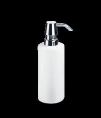 Dozownik na mydło biały/chrom Decor Walther Divino Rnd White Chrome 5,5×17,5cm