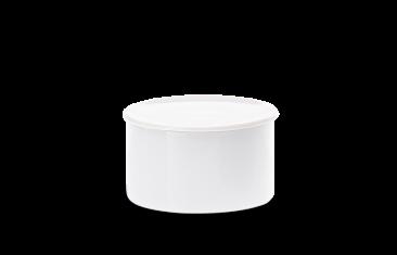 Pojemnik kosmetyczny porcelanowy biały Decor Walther Divino Rnd White M.10×6,5cm