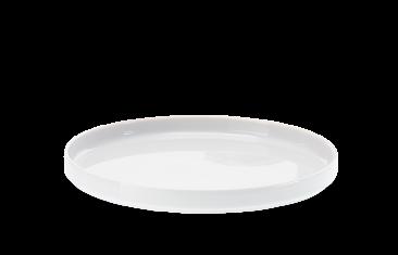 Taca łazienkowa porcelanowa biała Decor Walther Divino Rnd White 20x2cm
