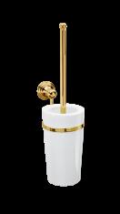 Szczotka do WC ścienna porcelanowa Gold Classic Decor Walther 12x20,5x40cm BBHOME