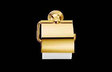 Wieszak na papier z klapką Gold Classic Decor Walther 14x7x14,5cm BBHOME