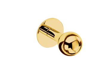 Wieszak pojedynczy Gold Classic Decor Walther 2,5x4cm BBHOME
